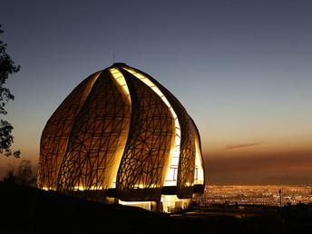 Inauguração do Templo Bahá'í do Chile