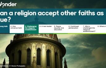 A Fé Bahá'í em destaque no iWonder