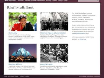 Base de Dados de Imagem, Bahá'í, on-line