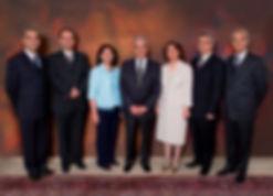 Os sete líderes bahá'ís que estão condenados a 20 anos de prisão no Irã
