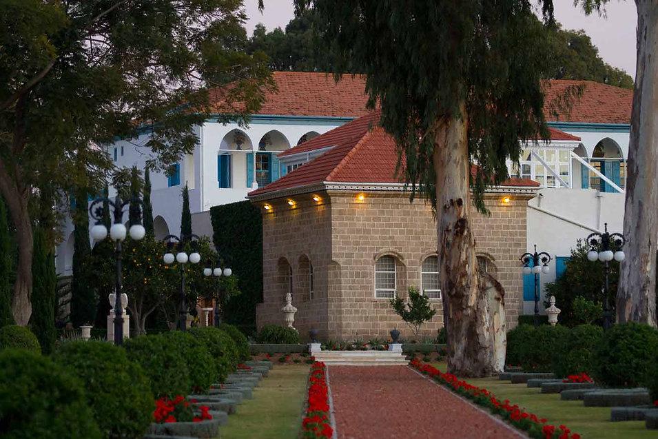 Santuário de Bahá'u'lláh em Bahjí perto Acre, Israel