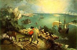 Bruegel-la-caduta-di-Icaro