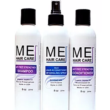 ME Anti Frizz Silk Press System W/O Treatment & Serum