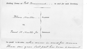 Which Paul K. Hubbs Married Flora Ross, Part Two: The Evidence