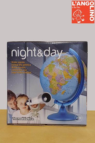Mappamondo Giorno e Notte