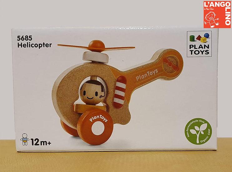 Elicottero di legno