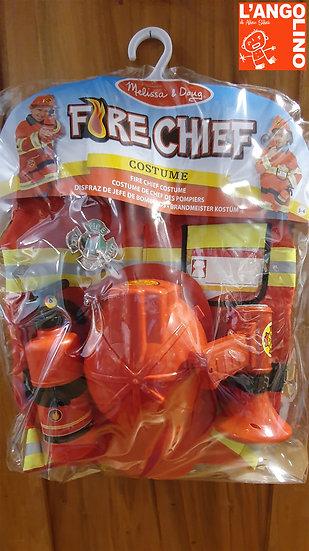 Costume da Pompiere
