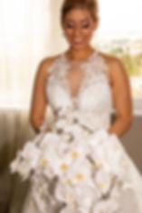 Bridal Orchid Bouquet By Annie Design