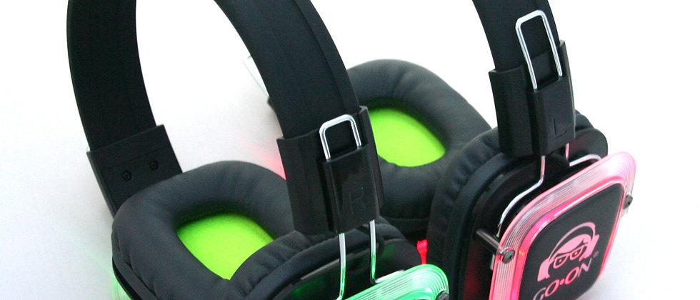 Large Silent Disco Set - Square Headphones