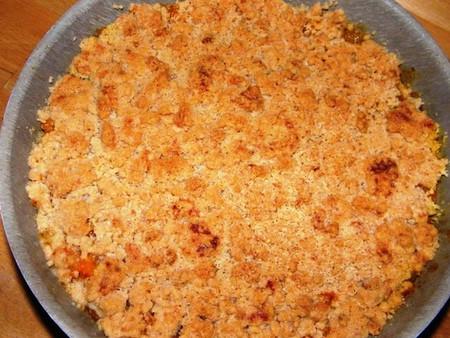 Crumble de flocons d'avoine