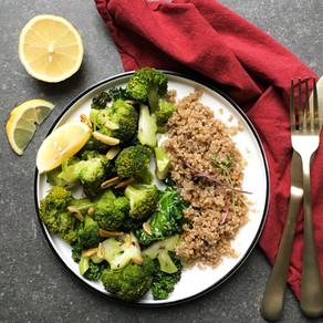 Poêlée de brocoli et kale au quinoa