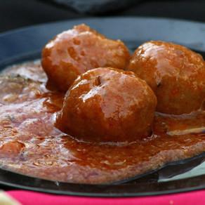 Boulettes à l'avoine sauce tomate