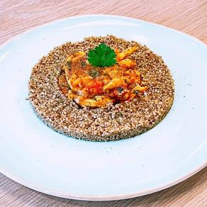 Encornets au quinoa