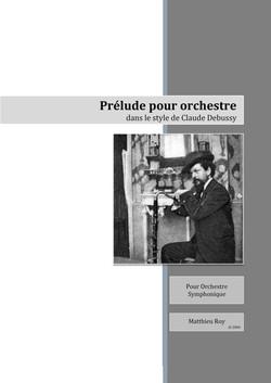 SCORE_M._Roy,_Prélude_dans_le_style_de_Debussy
