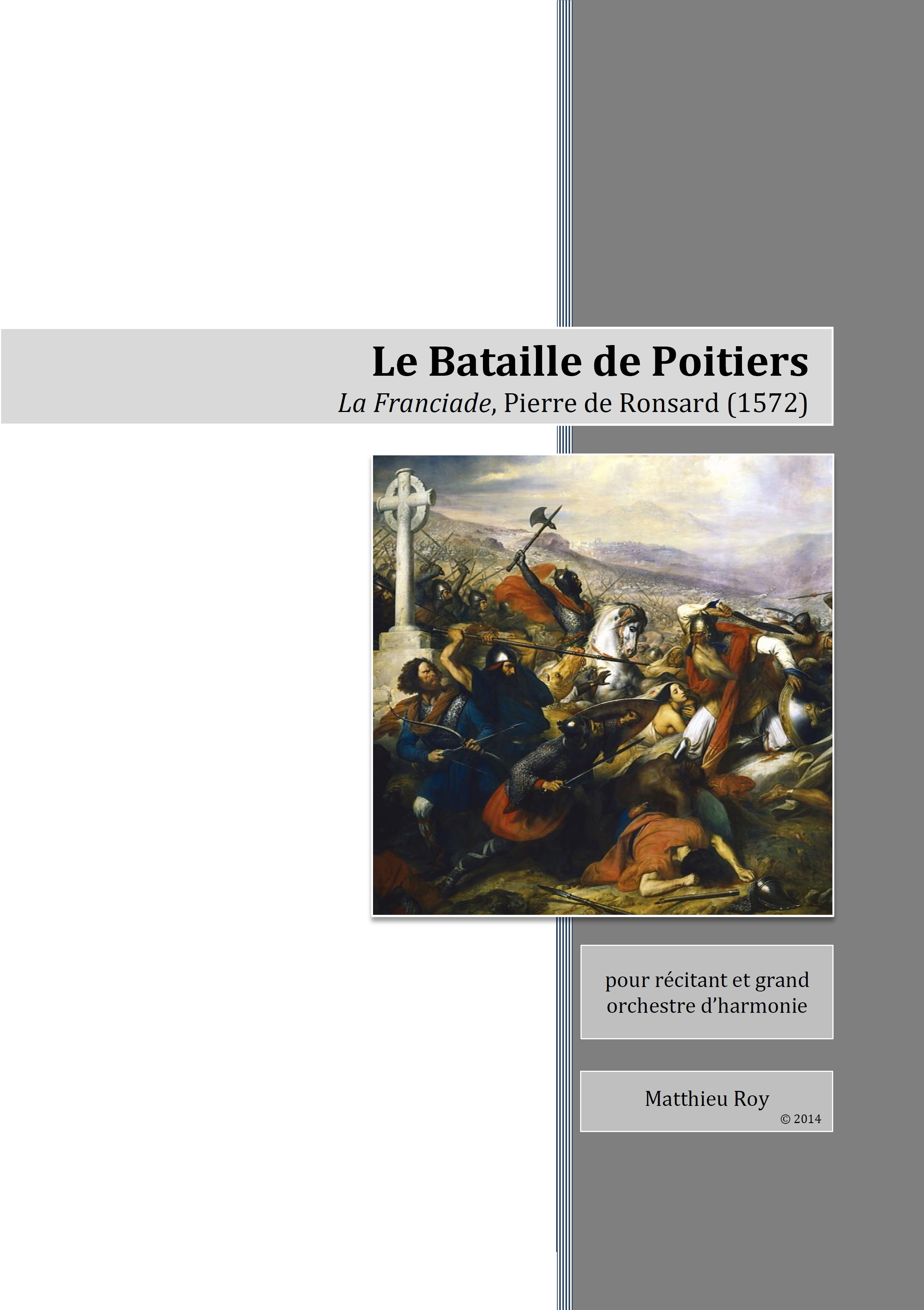 SCORE 2009 La Bataille de Poitiers