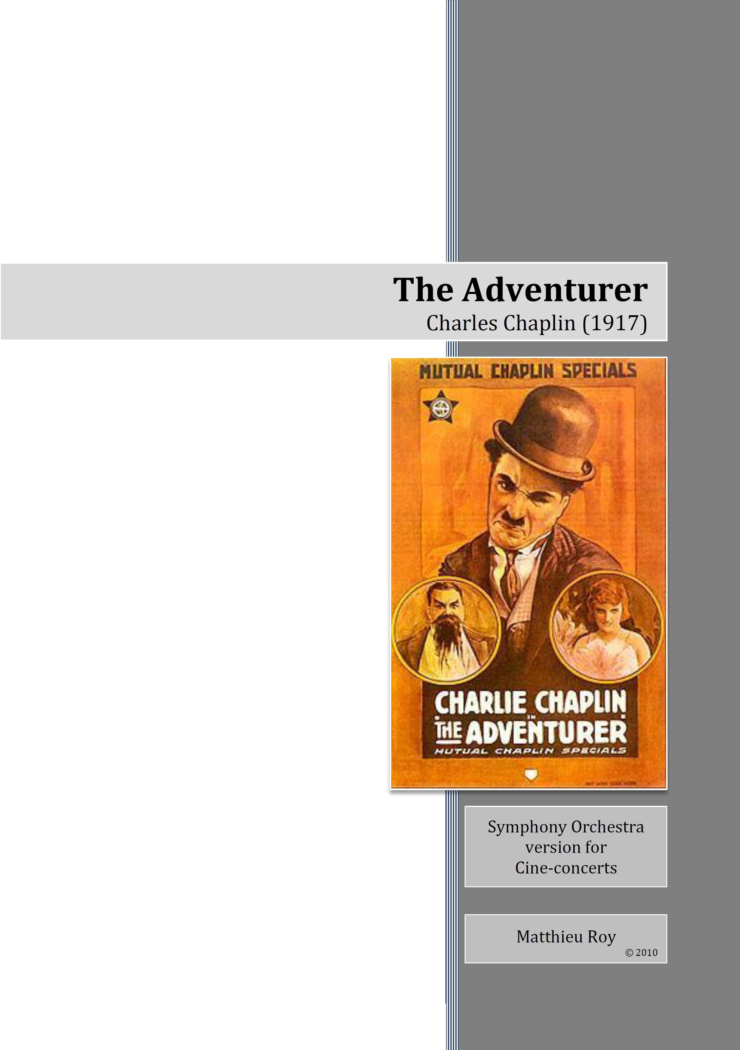 SCORE 2011 Chaplin, The Adventurer
