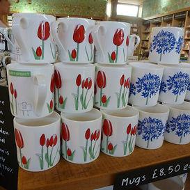Floral Mug Design for the Eden Project