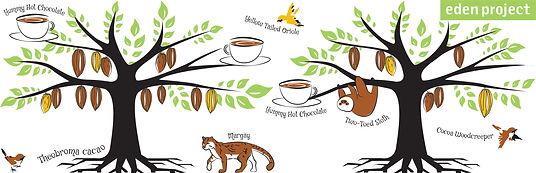 Eden Project Hot Chocolate Mug Design