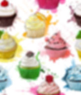 Cupcake Crazy repeating pattern design
