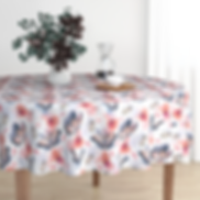 Butterflies and Bugs Tablecloth