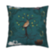 12 Days of Christmas Bird Cushion
