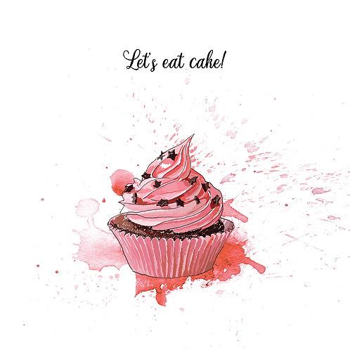 Cupcake Crazy Cards - Set of 8