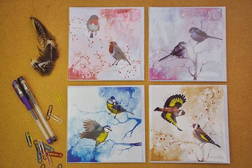 Wild Birds 5 - SALE Pack of 4