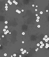 Grey and white floral pattern design