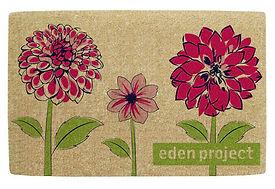 Floral Doormat Design for the Eden Project