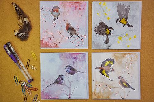 Wild Bird 3 - SALE Pack of 4