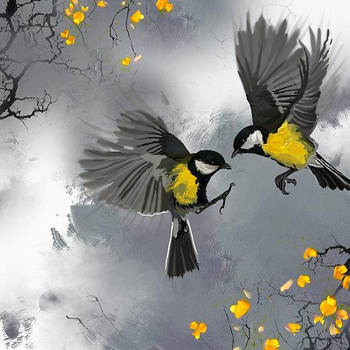 Garden Birds - print