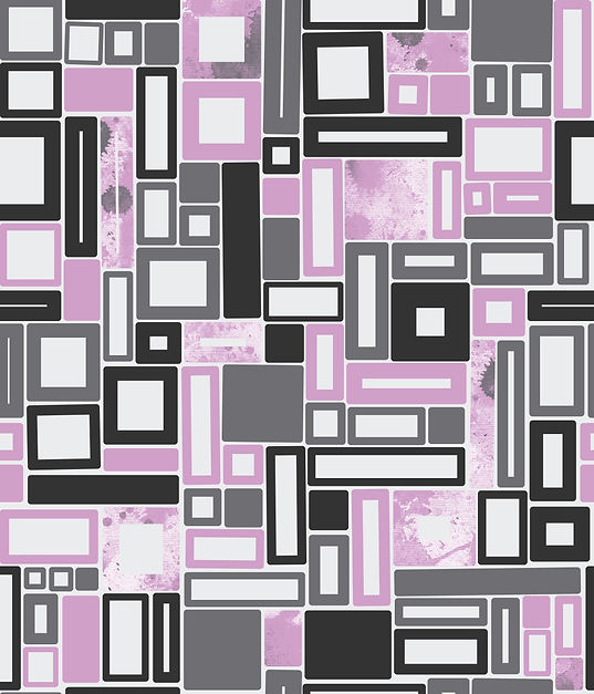 Oblongs and squares repeat pattern design