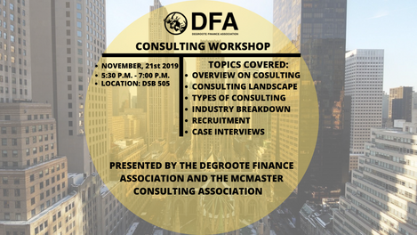INTRO TO CONSULTING WORKSHOP