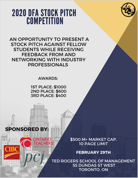 Stock Pitch Competition 2020