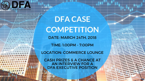 2018 FINANCE CASE COMPETITION