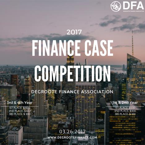 2017 DFA FINANCE CASE COMPETITION