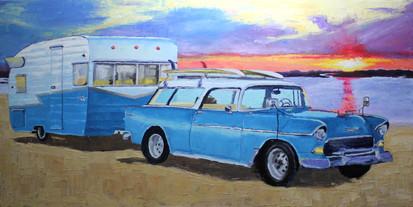 """Surfing Safari"" - Sold"