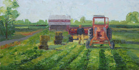 """""""A Man and His Tractor"""""""