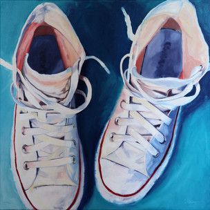 """""""Glass Slippers"""" - Sold"""