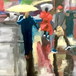 """Reflections of Rain Study"" - Sold"