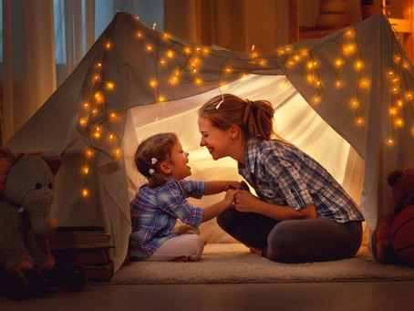 7 ~ Ideas to keep the kids engaged and unplugged indoors, especially on those hot and muggy days!