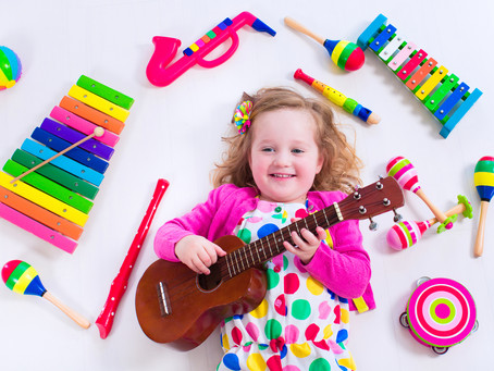 Help Your Child's Love of Music Bloom and Grow!