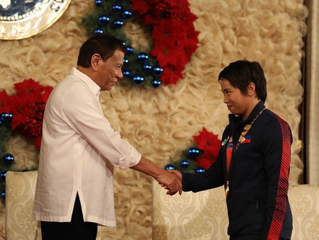 Diaz Hopes for Philippines' First-Ever Olympics Gold