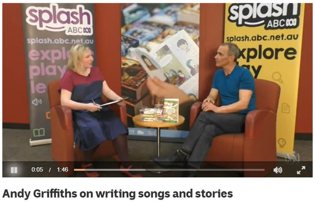 Andy Griffiths on writing songs and stories