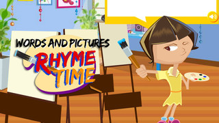 It's rhyme time with Words and Pictures
