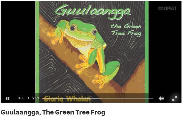 Guulaangga, The Green Tree Frog