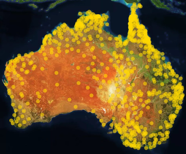 Gambay: an interactive map of Australia's first languages