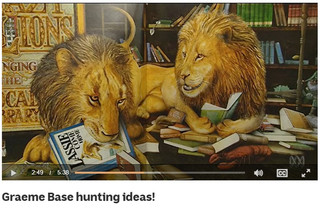 Graeme Base hunting ideas!