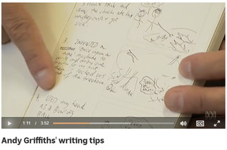 Andy Griffiths' writing tips