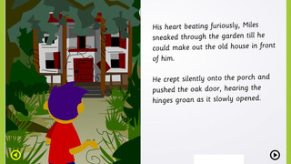Scary nouns and adjectives in Super Stories: The Abandoned House